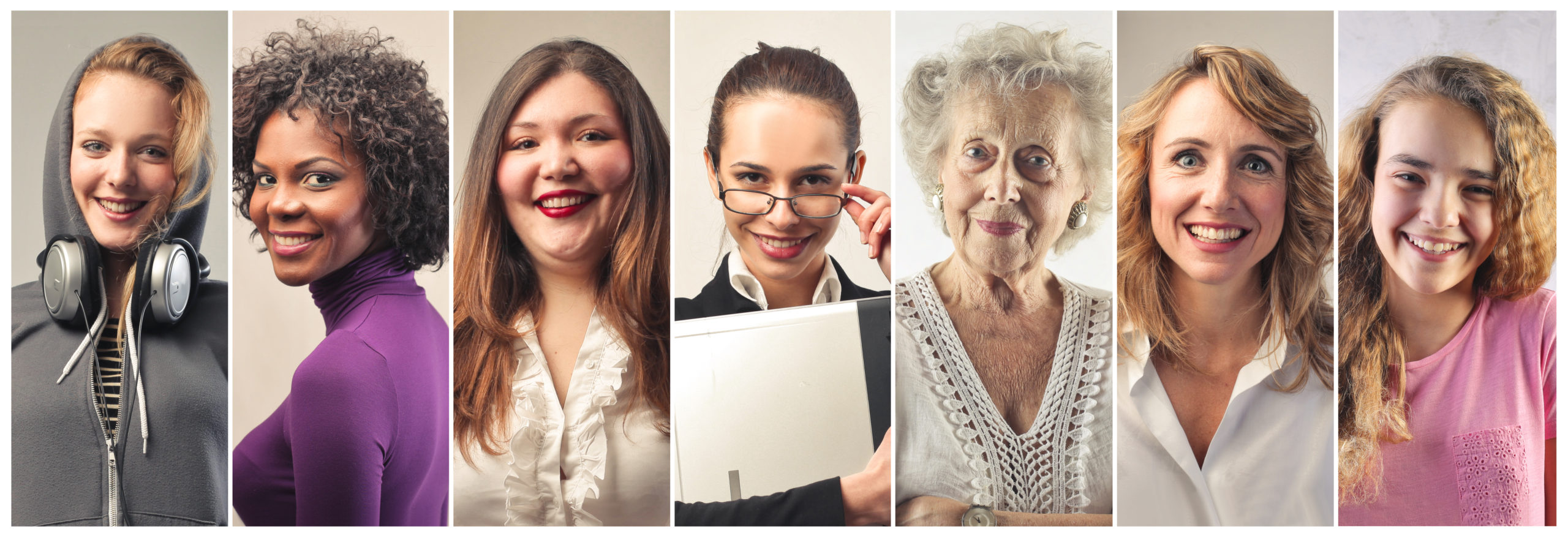 Collage Generational Women
