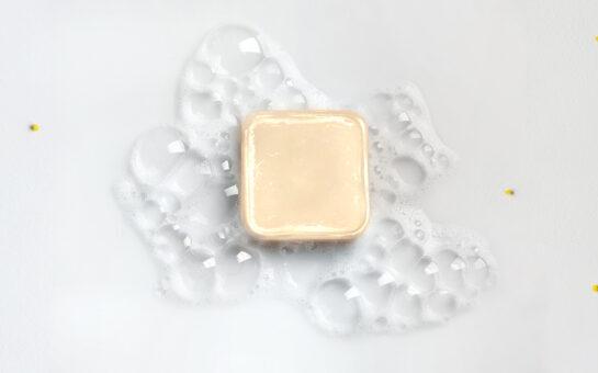 the dermaviduals shampoo bar